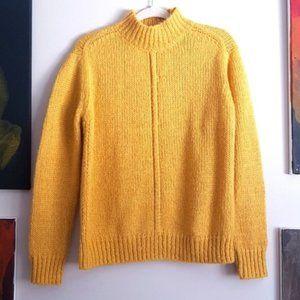 Philosophy mock neck knit sweater